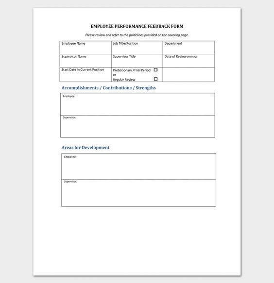 7 best Free Fillable and Printable Forms images on Pinterest - orientation feedback form