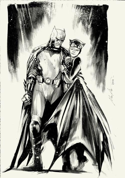 cat and bat by Rafael Albuquerque