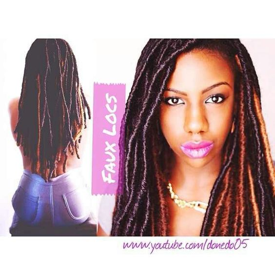 Faux Locs Hair Styles Pinterest Locs and Faux locs