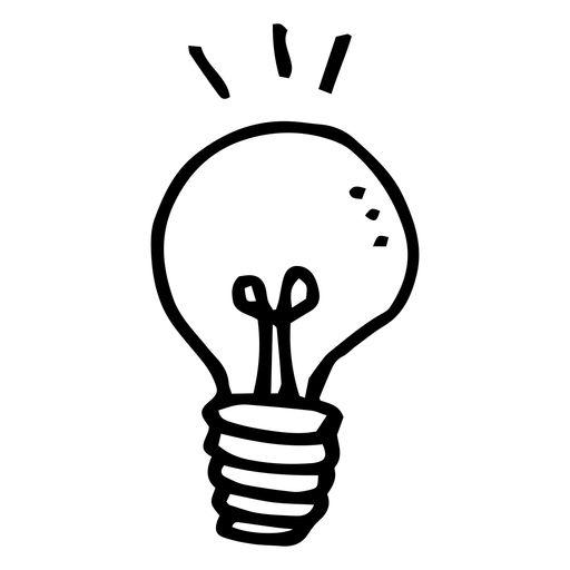 Light Bulb Doodle Icon Ad Sponsored Sponsored Bulb Doodle Icon Light In 2020 Doodle Png Light Bulb Graphic Design Doodle Icon