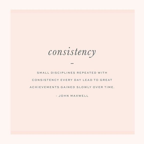 Consistency is what I want my life to be marked by in 2016. I'm a dreamer and I always have some new scheme or idea floating around in my brain. Sometimes I don't share them with people until I'm sure that it has a likely chance of working but it takes up a lot of space in my head. To be successful especially financially consistency is required in the choices made. In order to have an investment pay off you have to invest in the investment. For instance I was going to buy LeadPages last mont...