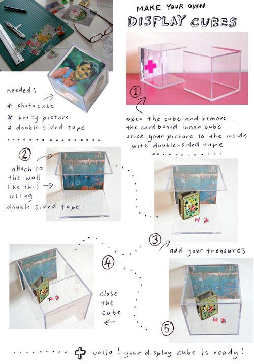 photo cube display