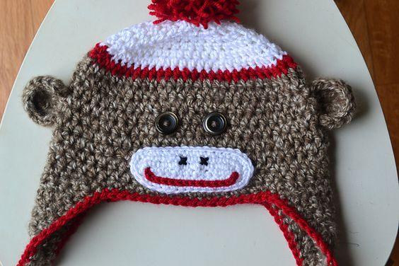 Sock Monkey Hat - best one I've seen yet!