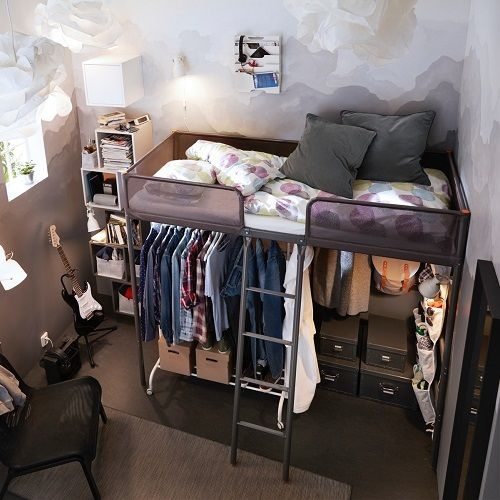 Small Bedroom Designs To Make Room More Spacious Ikea Indonesia