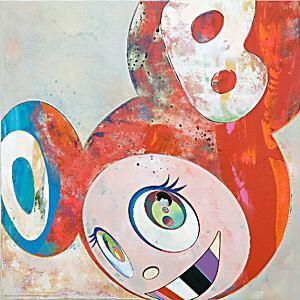 And then, And then, And then... variation by Takashi Murakami