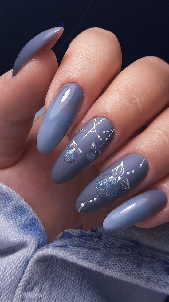 39 Stylish And Cool Christmas Nails Decoration Ideas 2020 Part 32 Christmas Nails Nails Nail Decorations