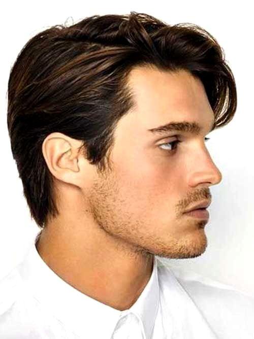 Mid Length Mens Hairstyles Insanely Di 2020 Potongan Rambut Pria Rambut Pria Gaya Rambut