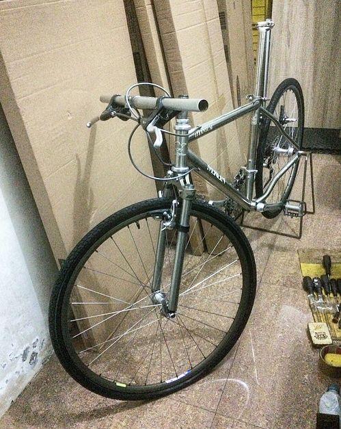 Merlin Titanium With Expedition Ird Titanium Rigid Fork Vintage Mountain Bike Best Mountain Bikes Vintage Bikes