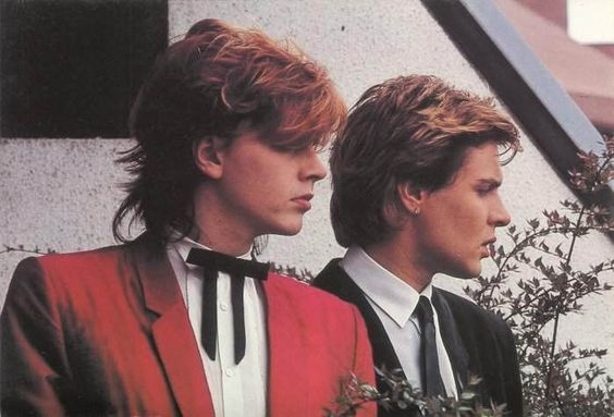 John Taylor and Simon Le Bon: