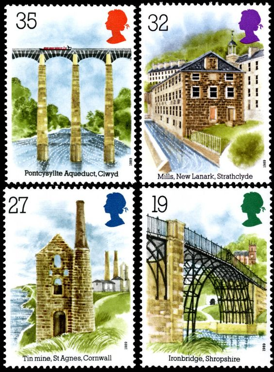 Royal Mail  1989 - Industrial Archaeology  http://rmspecialstamps.com/##stamps