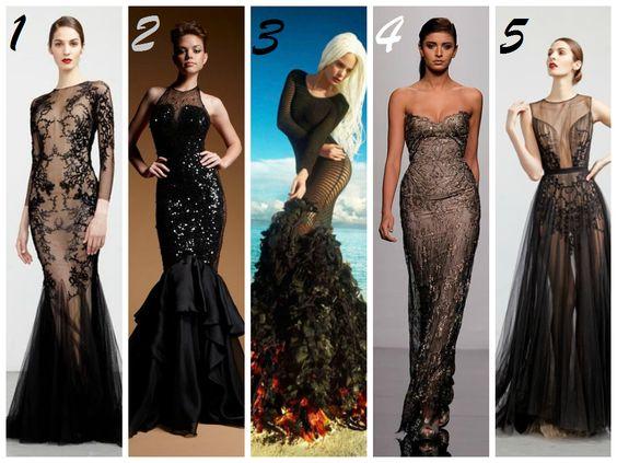 New Take on the LBD #dress #fashion #gown #black #LBD