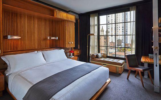 Habitación superior del Hotel Viceroy 5 * con hasta un 43% de descuento en la ciudad de #NuevaYork!  #VoyagePriveES #EEUU #hoteles #diseño #viajar