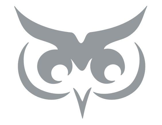 Download full size image table design pumpkin stencils for Simple owl pumpkin pattern