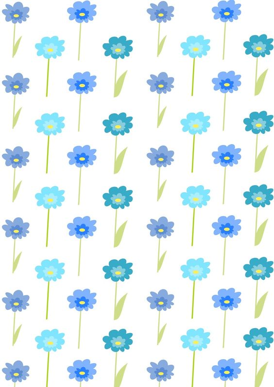 FREE printable floral gift wrapping paper ^^ | FREE ...