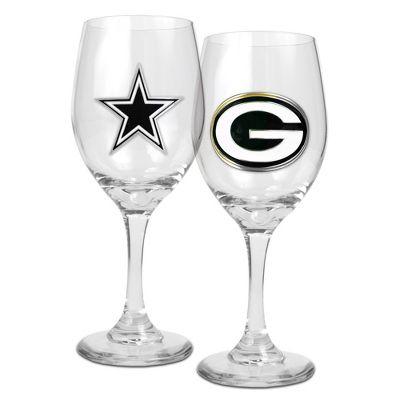 NFL Wine Glasses