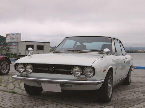 6th トロフェオ・タツィオ・ヌヴォラーリ・イン・ジャポーネ: #302 1971年 いすゞ117クーペ [1]