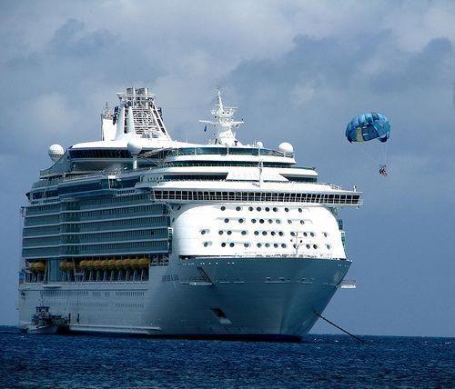 Mariner Of The Seas Parasailing Royal Caribbean Ships Cruise Ship Cruise Europe