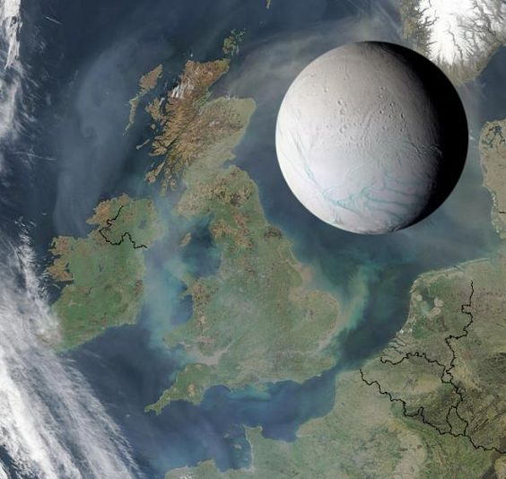 Another great example of Enceladus to scale