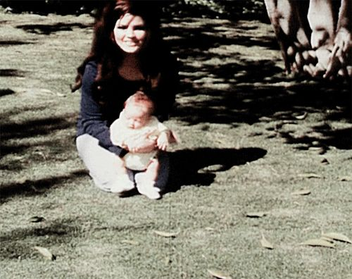 Priscilla And Lisa Marie Presley Home At Graceland 1968