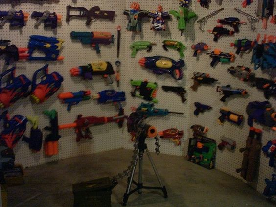 Nerf Gun Wall 2 Kids Pinterest I Love The O Jays