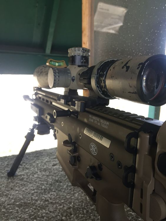 Scar 17 with Nightforce 3.5-15