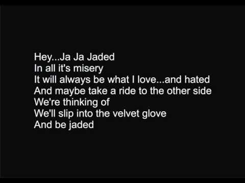 ▶ Aerosmith - Jaded with lyrics - YouTube