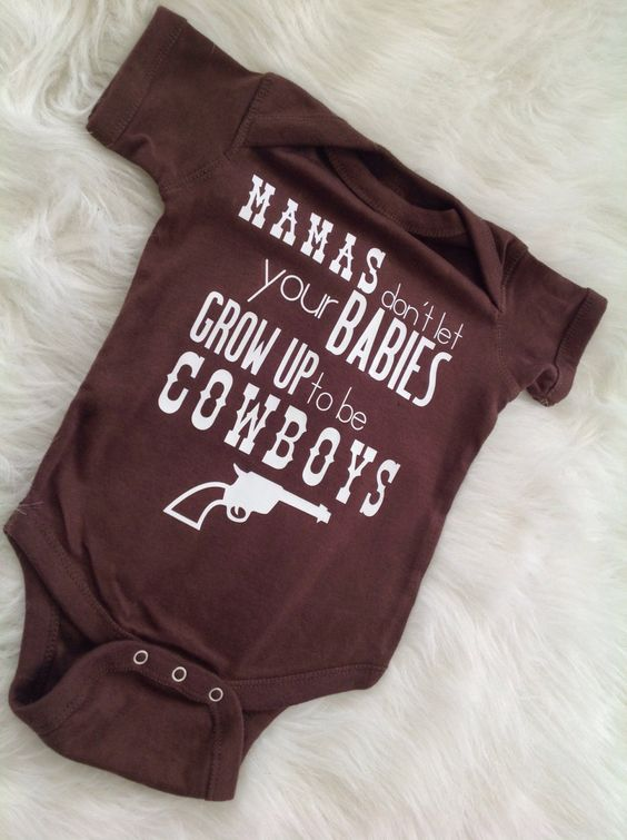 Cowboy baby shower gift/ Baby boy Bodysuit/ Waylon Jennings/ Country Baby/ Country Song Lyrics/ Country Song Shirt/ Western by Liljopeepshop on Etsy