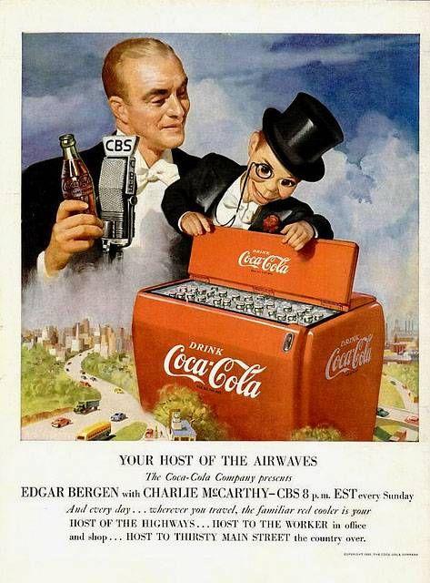 ☺ Coca Cola ☺   Retro advert Coke   Anuncios antiguos de Coca Cola   Publicidad vintage: posters, anuncios, afiches, carteles de época.