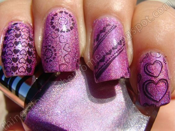 UP Colors Lilas Chrome with stamping plate from BM 2012.
