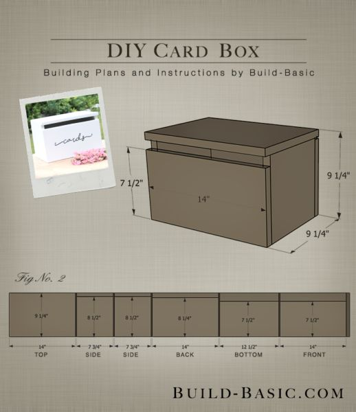 DIY Card Box By Build Basic