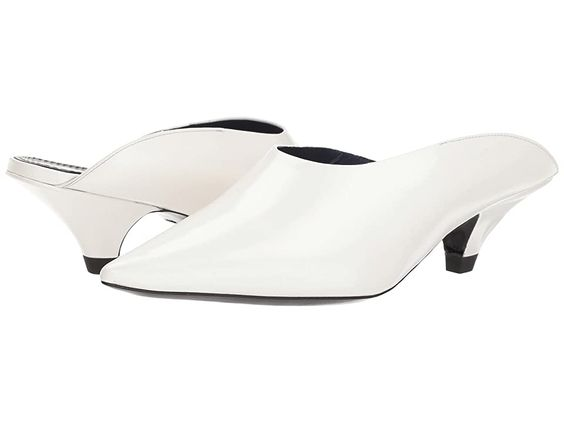 Proenza Schouler Ps31045 Real Optic White Women S Shoes Grace The Day With Effortless Class And Style In Your Proenza Schou In 2020 Shoes White Shoes Women On Shoes