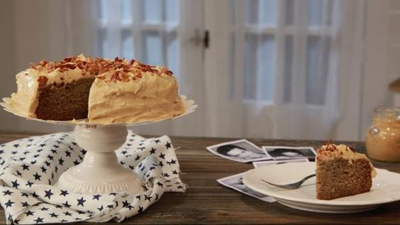 Bolo de Banana, Amendoim e Bacon para o Elvis - Prato do Dia 2   24Kitchen