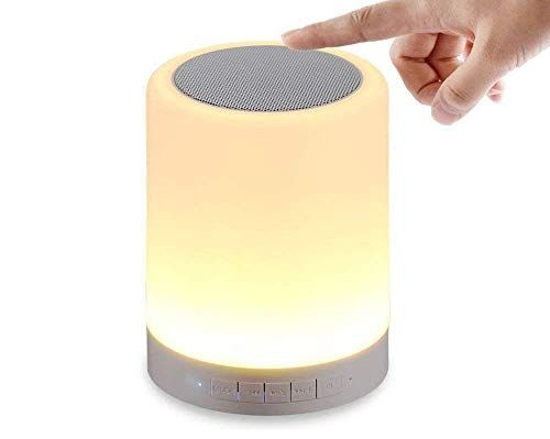 Sjs Traders Led Touch Lamp Bluetooth Speaker Wireless Hifi Speaker Light Usb Rechargeable P In 2020 Touch Lamp Bluetooth Speaker Hifi Speakers