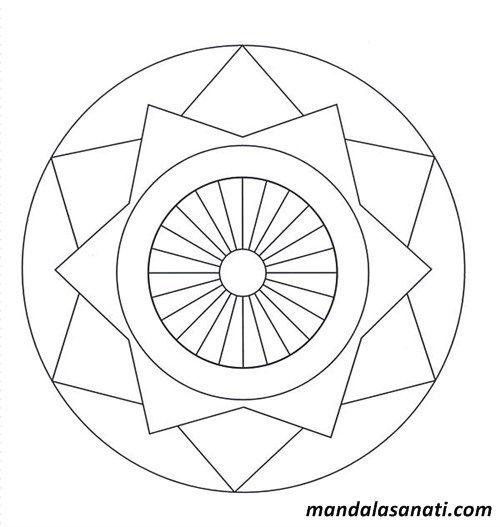 Okul Oncesi Mandala Sayili Boyama Ile Cocuklarinizin Beceri Dikkat Ve Dinleme Yetenegini Gelistirin Size Su Boyama Sayfalari Mandala Mandala Boyama Sayfalari
