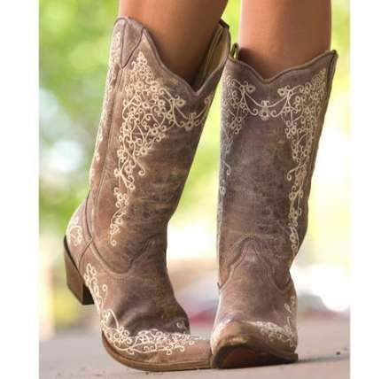 Wedding Shoes Converse Cowboy Boots