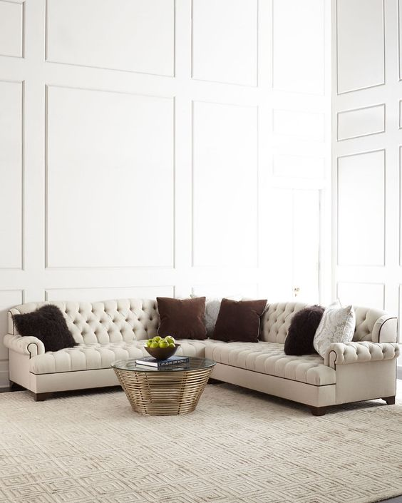 American Style Regional Home Use Chesterfield Corner Sectional Sofa , Find  Complete Details about American Style Regional Home Use Chesterfield Cor