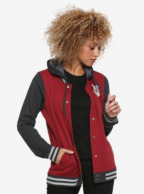 HARRY POTTER Slytherin Juniors Varsity Jacket