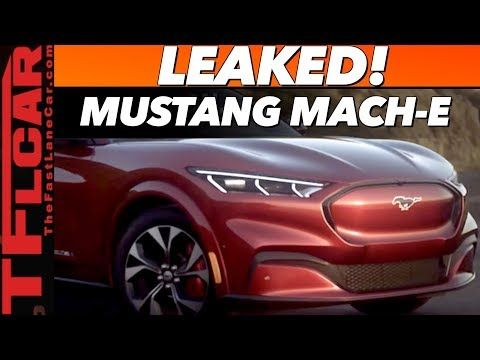 This Is It 2020 Ford Mustang Mach E Revealed Model X