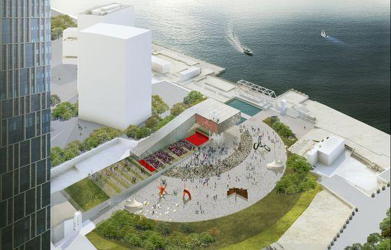 Galería de OMA gana concurso para diseñar centro de exhibición en Shanghai - 4