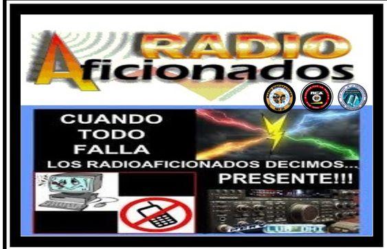 El radioaficionado presente