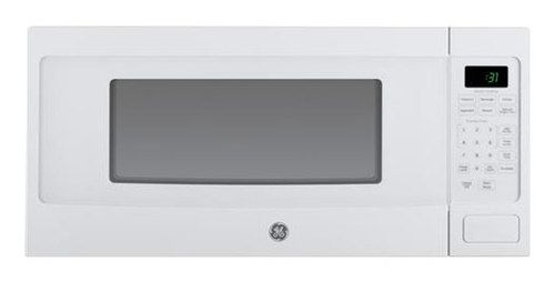 Ge Profile Series 1 1 Cu Ft Mid Size Microwave White On