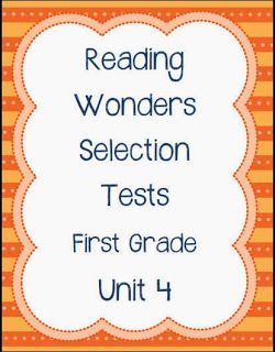 Worksheets Grade 4 Reading Selection pinterest the worlds catalog of ideas unit 4 reading wonders selection tests