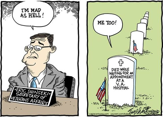 VA= Victimize All MED= Medicate Everyone Daily
