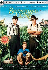 Secondhand Lions  Tim McCanlies, Michael Caine, Robert Duvall: Movies Tv Music, Good Movies, Movies Books Music, Lions Dvd, Lions Tim, Favorite Movies, Movies And Tv, Movies I Ve