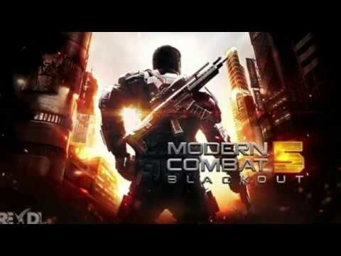 Game Modern Combat 5 Esports Fps 3 1 1b Apk Mod Full Obb Data For Android Blackout Game Combat Gameloft