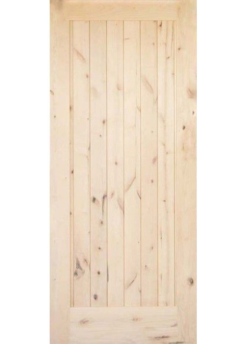 Krosswood Knotty Alder 1 Panel Solid Wood Core Barn Door Slab 36 Wide X 84 Tall X 1 3 4 Thick Barn Door Solid Wood Wood Exterior Door