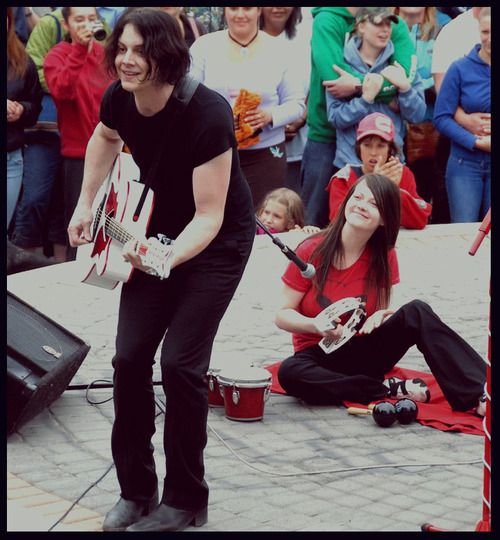 The White Stripes: I love how Meg is clearly in awe of ...