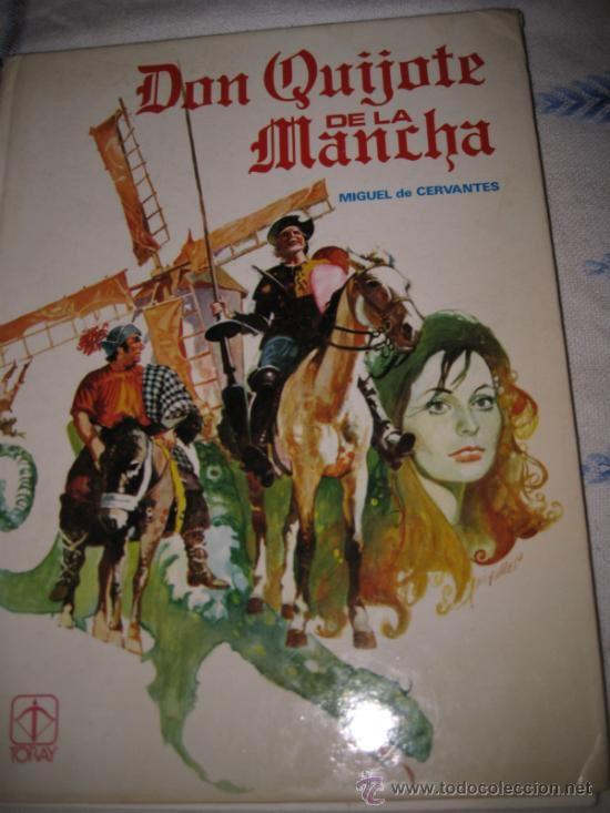 DON QUIJOTE DE LA MANCHA - MIGUEL DE CERVANTES. TIPO COMIC. EDIC. 1982.