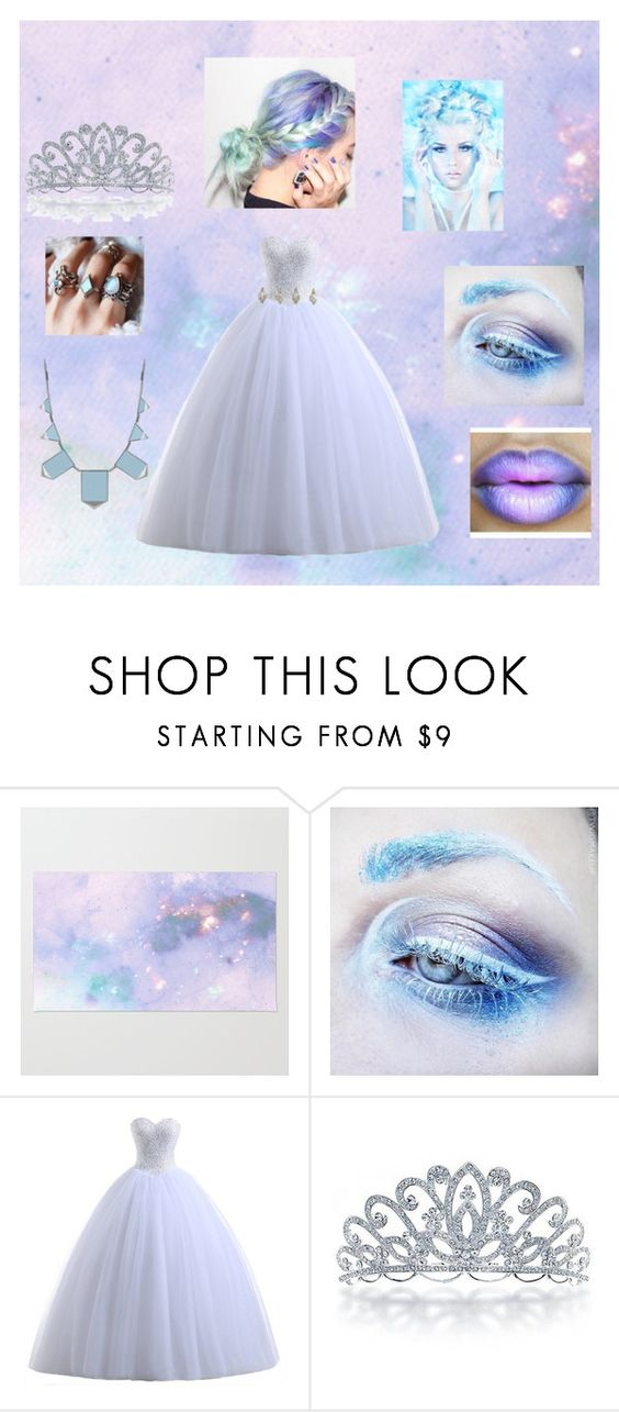 """Radioactive Ice Queen"" by some-random-fangirl582 ❤ liked on Polyvore featuring Medusa's Makeup, Shop Dixi, Bling Jewelry and House of Harlow 1960"
