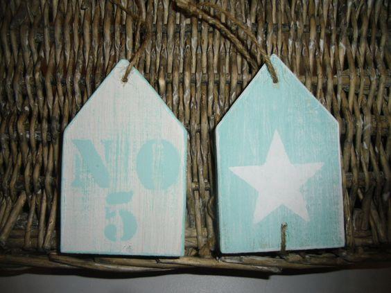 ***2 Strandhäuser*** von Annas Livsstil auf DaWanda.com